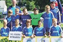 Jiskra Rýmařov, mladší žáci.