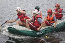 Jednou z disciplín Zlatého desetiboje byl také raft.