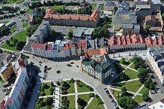 Krnovské náměstí. Ilustrační foto.