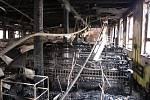 Karnola po požáru ze dne 20. 12. 2017.