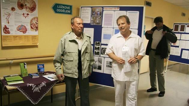 Vladimír Šigut návštěvníkům nastínil nejen základy anatomie mozku, ale také princip a rizika vzniku neurologických onemocnění.