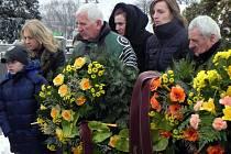 S Evangelií Čarasovou se rozloučili blízcí a přátelé 26. listopadu ve Městě Albrechticích.