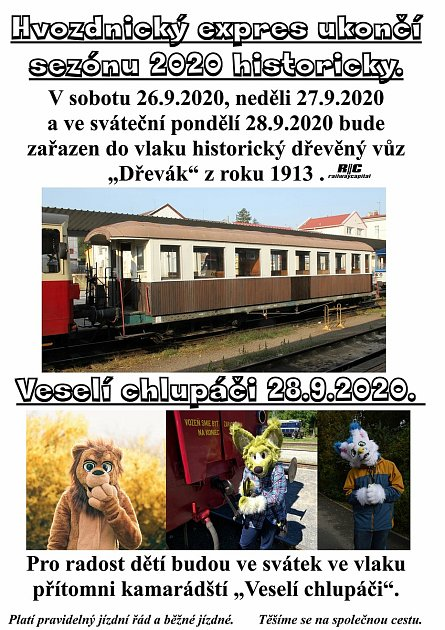 Hvozdnický expres je legendární trať mezi Opavou a Svobodnými Heřmanicemi.