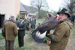 Svátek svatého Huberta 3. listopadu oslavili myslivci v Třemešné slavnostní hubertskou mší, která oživuje pradávné tradice.