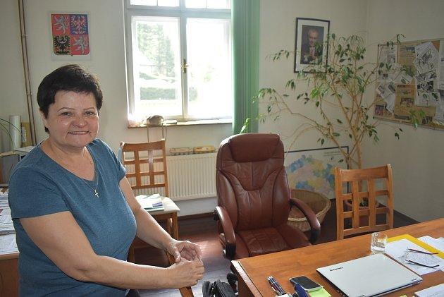Starostka Ludvíkova Dana Selingerová.