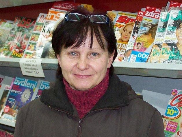 Naďa Bučková, 49 let, Rýmařov: Občas, líbí se mi atmosféra, betlém, a to, jak se k sobě lidé chovají pěkně, aspoň jednou za rok.