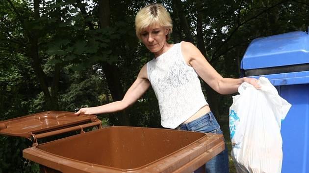 Svoz bioodpadu -Ilustrační foto.