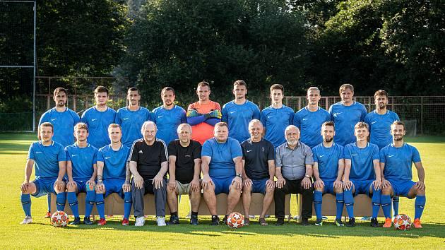 Fotbalový klub TJ Břidličná, 20. srpna 2020 v Břidličné.