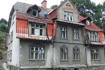 Dům hrůzy v Břidličné.
