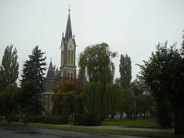 Evangelický kostel v Krnově.