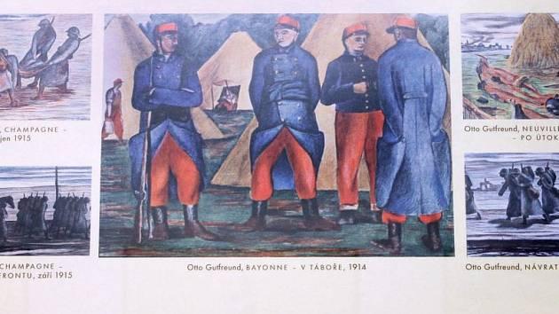 Výstava Cesta ke svobodě představuje umělecká díla inspirovaná světovou válkou.