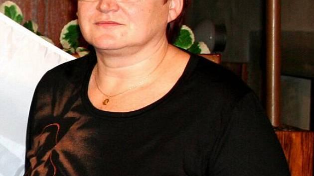Starostka Krnova Alena Krušinová.