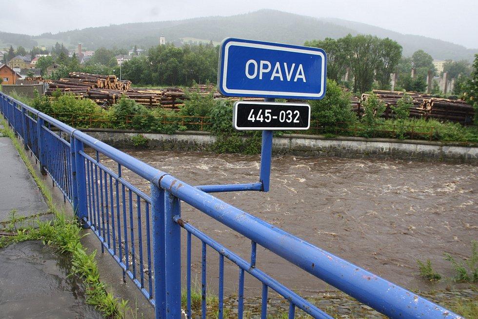Černá Opava, sobota 20. června 2020.
