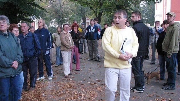Krnovský historik Dalibor Zlomek