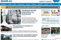 Webová stránka Bruntálského a Krnovského deníku.