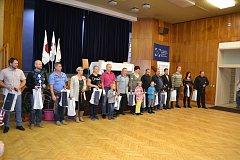 DÁRCI KRVE převzali ocenění v Bruntálu.Odběrové středisko Bruntál Transfúzní služby Šumperk tuto slavnost připravují každoročně.