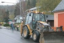 Zvýšení bezpečnosti si slibují od nového chodníku v rekreační obci Malá Morávka.