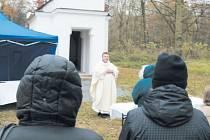 Obec Studnice oficiálně zanikla v roce 1971. Zbyla po ní kaple sv.Linharta, kterou se podařilo opravit a v půlce listopadu znovu vysvětit.