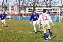 V důležitém nedělním utkání přivítají fotbalisté bruntálského Slavoje na svém hřišti tým Suchých Lazců.