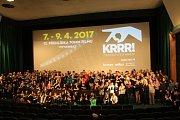 Krnovský festival filmových sedmdesátek Krrr! se odehrál v kině Mír 70 už po dvanácté.