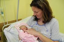 Eliška Škanderová se narodila 1. ledna ve 14.53 hodin. Při narození vážila 3140 gramů a měřila 47 centimetrů.