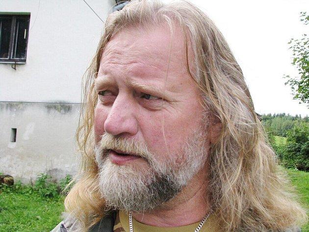Petr Schäfer, vedoucí Záchranné stanice dravců a sov Stránské u Rýmařova.