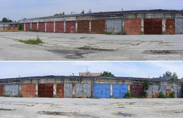 Takto vypadají bývalé kasárny v současnosti.  Rozlehlé vojenské areály jen pomalu hledají  novou tvář a funkci.