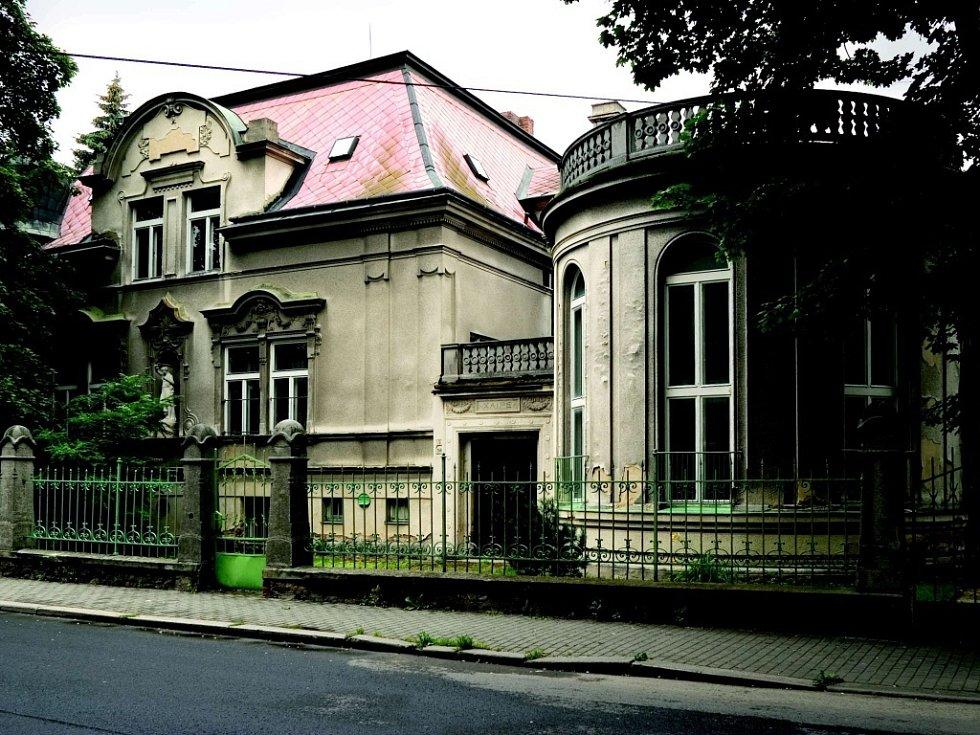 Chlupaczkova vila.