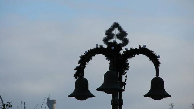 Veřejné osvětlení v Krnově.