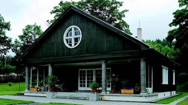 Letní vila Hany Larischové na Ježníku.