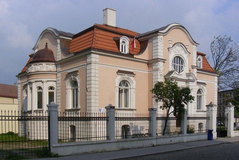 Vila továrníka Westreicha.