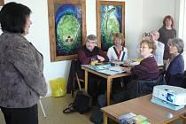 Zástupce partnerských měst uvítala ve flemmichově vile starostka Krnova Renata Ramazanová.