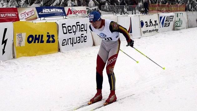 Třiadvacetiletý Michal Kautz, někdejší několikanásobný juniorský mistr ČR, se v letošní sezoně po dvouleté přestávce vrátil do bílé stopy   Třiadvacetiletý Michal Kautz, někdejší několikanásobný juniorský mistr CR, se v letošní sezoně po dvouleté přestávc