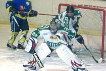 Porážku 0:2 si přivezli hokejisté Horního Benešova  z ledu Kopřivnice, která kráčí za postupem do baráže o druhou ligu.