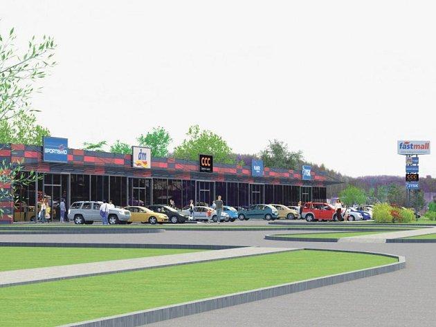 Už jen několik dní zbývá do otevření nového obchodního centra v Bruntále na třídě Práce.