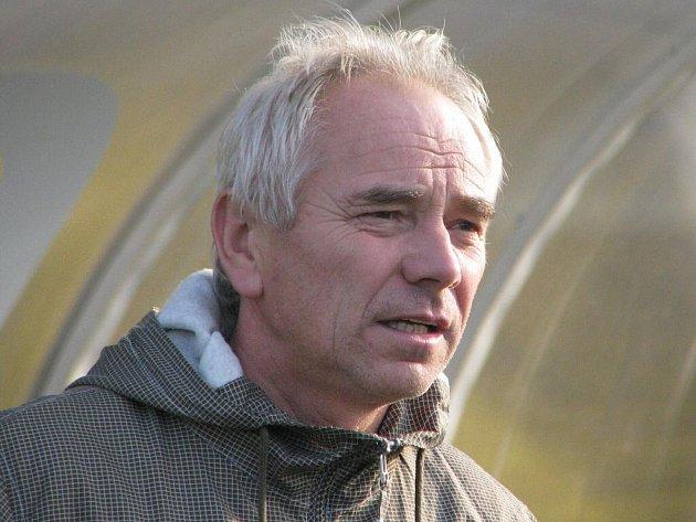Trenér Petr Kostelník.