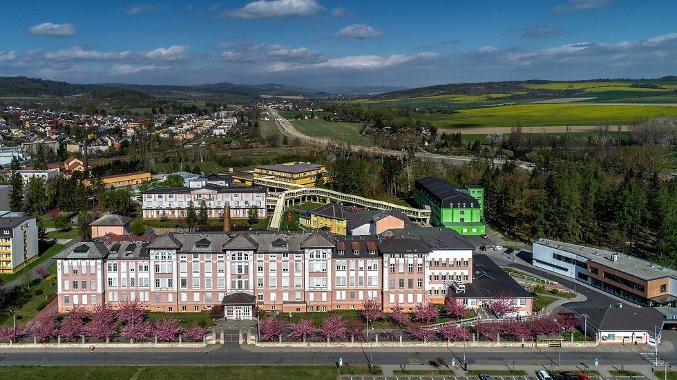 Nemocnice v Krnově.