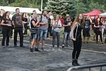 Rodinný festival Rockem proti přehradě 2019 v Nových Heřminovech.