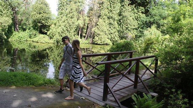 Chářovský park v Krnově. Ilustrační foto.