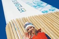 Snímek Veroniky Zvařičové pochází ze Zimních olympijské hry do Vancouveru, kam se nominovala jako biatlonistka před třemi lety.