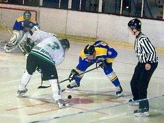 Hokejisté Horního Benešova zapomněli na porážku v Rožnově pod Radhoštěm a v sobotním utkání na vlastním ledě přehráli nebezpečnou Karvinou.