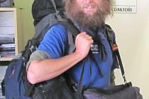 Ivo Dokoupil se vrátil z Mongolska a z Bajkalu na jeden den domů do Radimi u Krnova, přebalil batoh a hned následující den odjel na Zakarpatskou Ukrajinu značit turistické trasy.