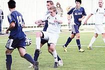 Krnovští fotbalisté dotáhli dvoubrankové vedení Břidličné, pak ale body ztratili.