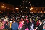 Rozsvícení stromu v Bruntále, pátek 25. listopadu.