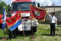 Dobrovolní hasiči z Anděslské Hry mají od soboty 7.června nový prapor. Jeho svěcení proběhlo v místním kostele v rámci oslav Dnů města.