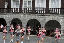 Zahájení letošní lázeňské sezony v Karlově Studánce na Bruntálsku.