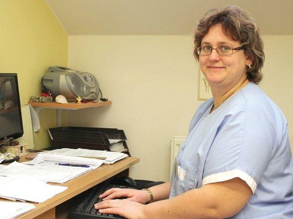 Kateřina Pelíšková dohlíží coby nutriční terapeutka na léčbu unemocných vPodhorské nemocnici.