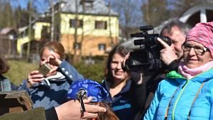 Vítání ptačího zpěvu v Karlově Studánce se zoologem Petrem Šajem, květen 2021.
