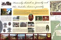 HISTORICKÝ CHODNÍK na Zámecký vrch v Ludvíkově olemuje pět informačních panelů, bonusem největším bude dvanáctimetrová rozhledna u zříceniny hradu Fürstenwalde.
