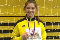 Anna Michalcová se nenechala zaskočit ani staršími soupeřkami a získala zlato.